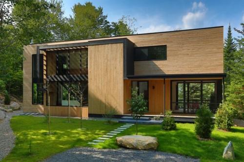 Desain Rumah Kayu Minimalis Sederhana 10 - 3 Inspirasi Desain Rumah Sederhana Impian Keluarga 2019
