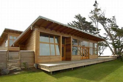 26 Desain Rumah Kayu Minimalis Sederhana Terbaru 2018