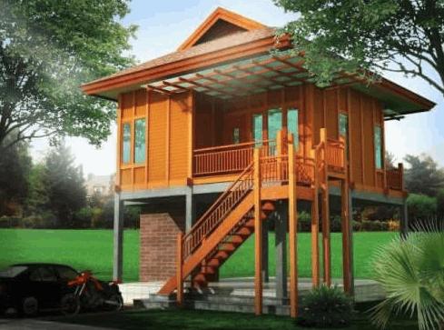 Desain Rumah Kayu Minimalis Sederhana 19 - 26 Desain Rumah Kayu Minimalis Sederhana Terbaru 2018