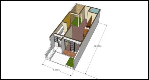 45 Gambar Desain Rumah Memanjang Ke Belakang Gratis Terbaru Unduh