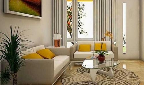 Desain Interior Ruang Tamu Minimalis Type 36 1 - 18 Desain Interior Ruang Tamu Minimalis Type 36 yang Keren