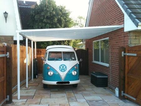 Gambar Garasi Mobil Rumah Kecil