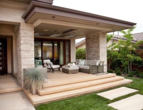 Model Teras Rumah Mewah 12 - 19 Model Teras Rumah Mewah Cantik Nan Modern Terbaru 2018