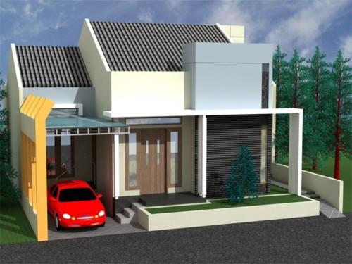 esain Garasi Mobil Rumah Minimalis 2 - 23 Desain Garasi Mobil Rumah Minimalis Kecil Terlengkap 2018