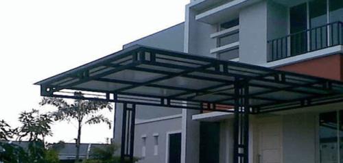 Model Kanopi Rumah Minimalis 2018
