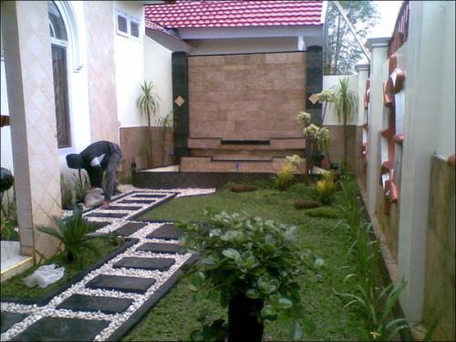Taman minimalis untuk tempat santai 1 - 20 Desain Halaman Rumah dan Taman Minimalis Yang Sangat Menginspirasi