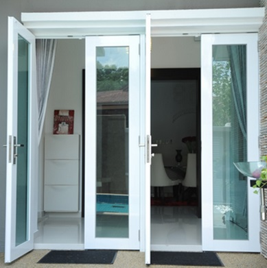Kusen Pintu Aluminium Minimalis 1 - Tips Memilih Pintu Rumah Minimalis & 50++ Contoh Desain.