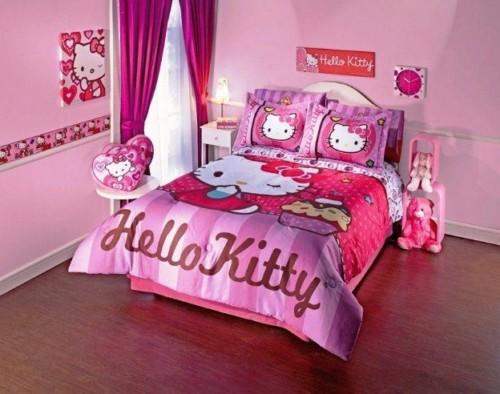 89+ Foto Desain Kamar Tidur Minimalis Hello Kitty Paling Bagus