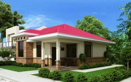 Desain Rumah Sederhana Tapi Mewah 1 Lantai