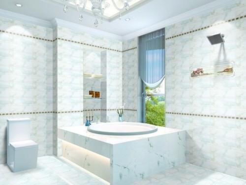 Keramik Kamar Mandi Warna Putih - 13 Warna Keramik Kamar Mandi untuk Lantai dan Dinding yang Bagus