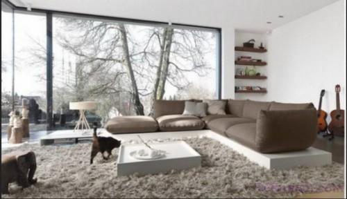 Model Ruang Keluarga dengan Meja Lesehan 6 - 21 Desain Ruang Keluarga Lesehan untuk Ruangan Sempit