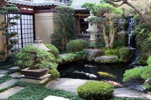 taman jepang2 - 17+ Desain Rumah Minimalis dengan Konsep  Jepang Paling Menarik