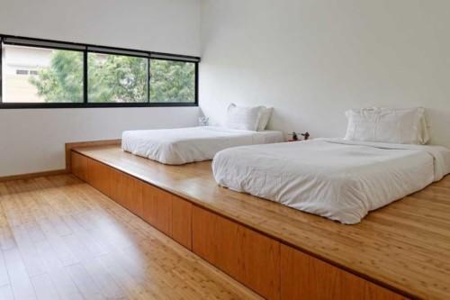 tegel kamar tidur kayu 2dipan - 21+ Motif Tegel Kamar Tidur Minimalis Pilihan
