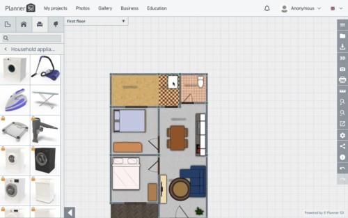 Langkah Desain Perabot 12 - 7 Langkah Mudah Buat Sendiri Denah Rumah Minimalis