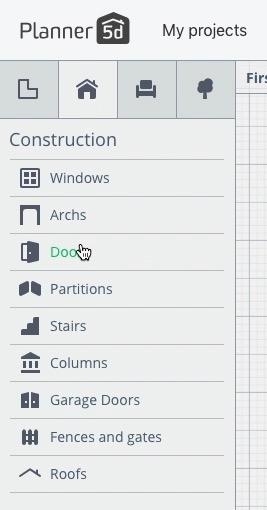 Langkah Desain Pintu 1 - 7 Langkah Mudah Buat Sendiri Denah Rumah Minimalis