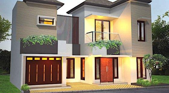 rumah toko 2 lantai lebar 2 - Tips Desain Rumah dan Toko dalam Satu Bangunan 2019