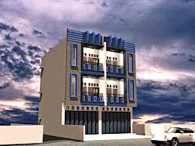 rumah toko 3 lantai - Tips Desain Rumah dan Toko dalam Satu Bangunan 2019