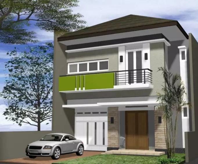 15 Contoh Rumah Minimalis 2 Lantai Terbaik 2019 Rumahpedia