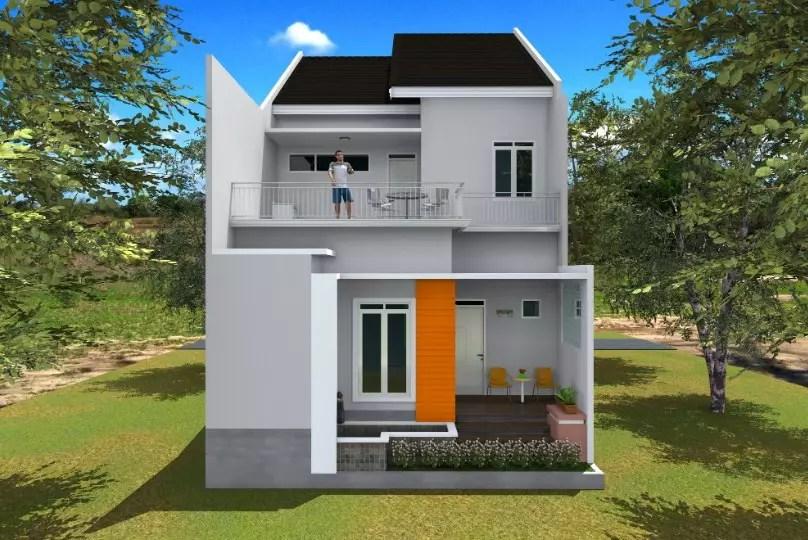 60 Desain Rumah Minimalis 2 Lantai Modern Terbaru 2019 Rumahpedia