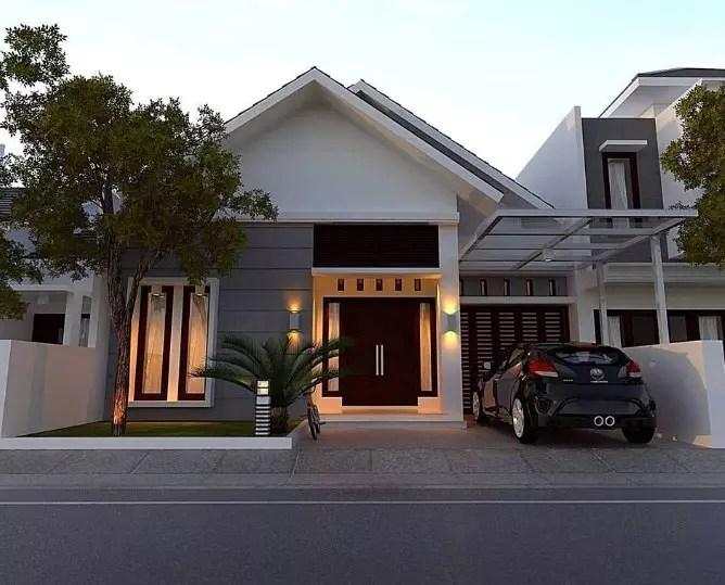20 Desain Rumah Minimalis Modern 1 Lantai 2019 Terbaru Rumahpedia