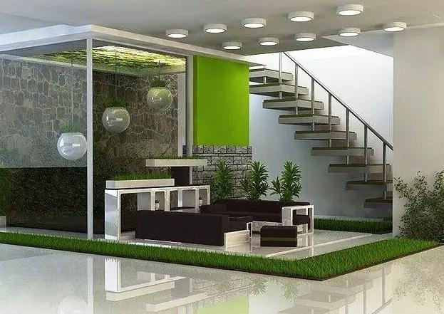 40 Desain Taman Rumah Minimalis Modern Terbaru 2019 Rumahpedia