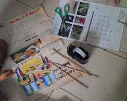 Kriya Membuat Mainan Tongkat Kertas Ajaib 3