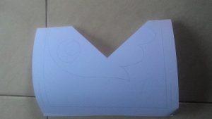 Kreasi lipat kertas Membuat Mulut burung 4