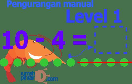 Soal latihan mandiri matematika pengurangan untuk anak SD