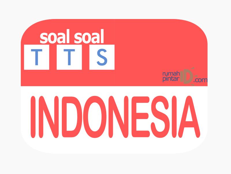 contoh soal cerdas TTS dengan tema indonesia