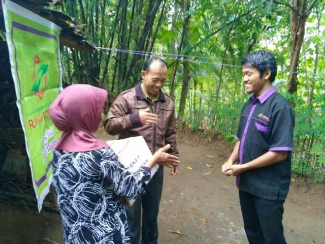 Kerjasama Antara Donatur Dengan Tim Rumah Sedekah