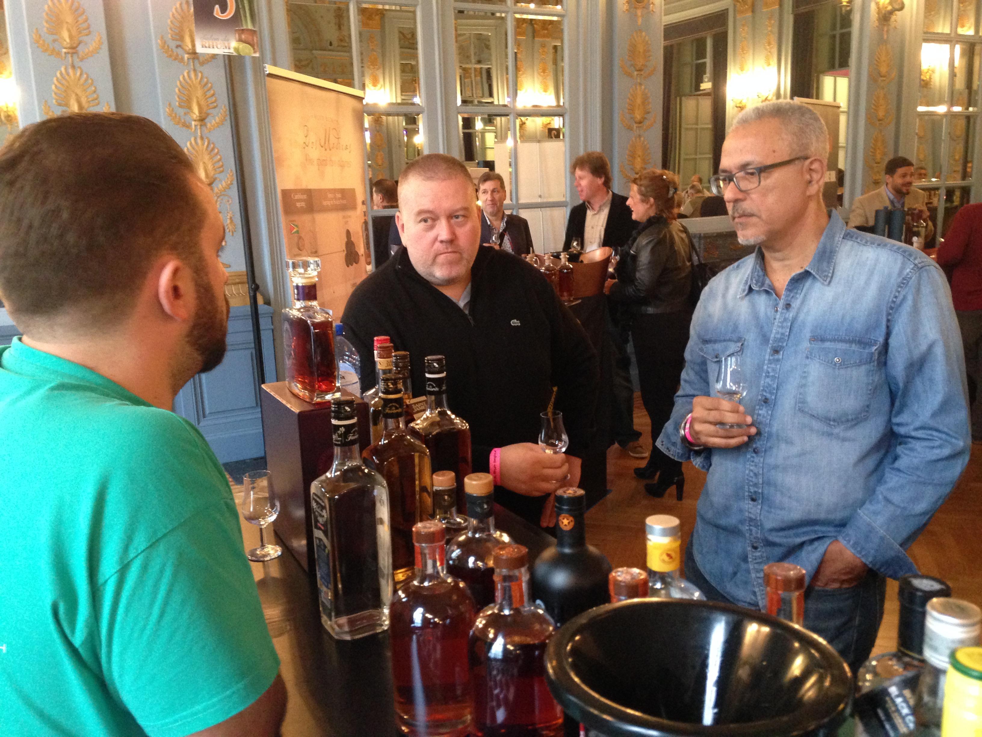 Daniel Bodin, Rum event, Spa October 2016