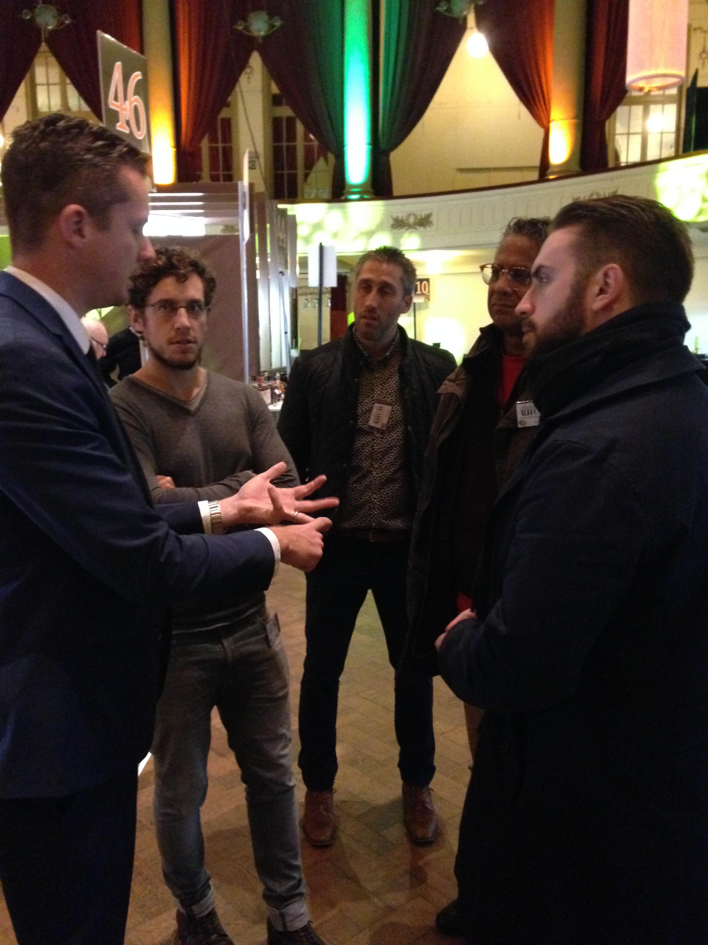 Benoit Bail, Les Ti'Rhum de Ced, François Longueteau & Jerry Jitani, Spa October 2016