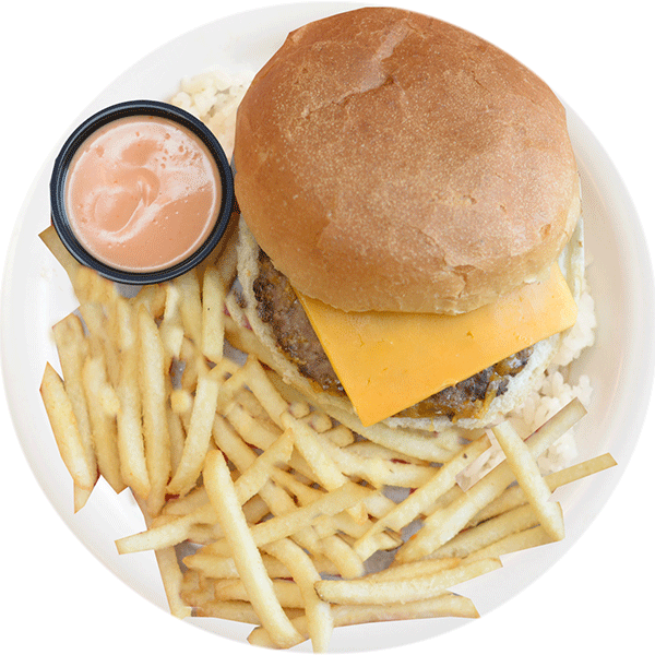Rumbi Kids Tiki Burger