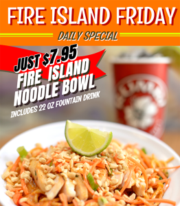 Rumbi Island Grill Daily Specials