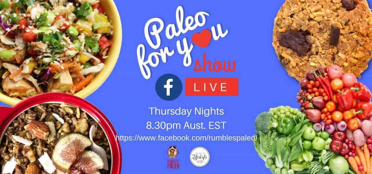 paleo for you facebook live