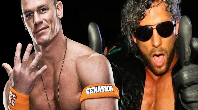 John Cena Causes Uproar, Posts Two Pictures Hinting of Kenny Omega Coming To WWE!