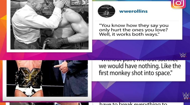 Seth Rollins' Sends Cryptic Message To Triple H.