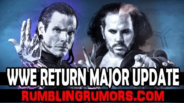 Matt & Jeff Hardy WWE Return Rumors Major Update!