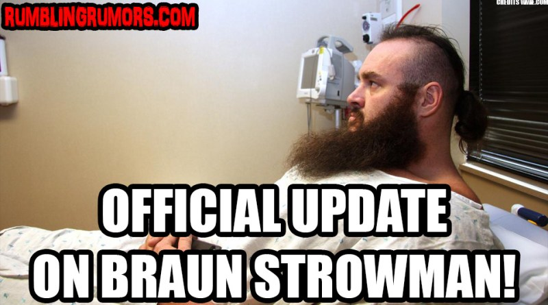 Braun Strowman Injury Update: Worse Than Once Thought.