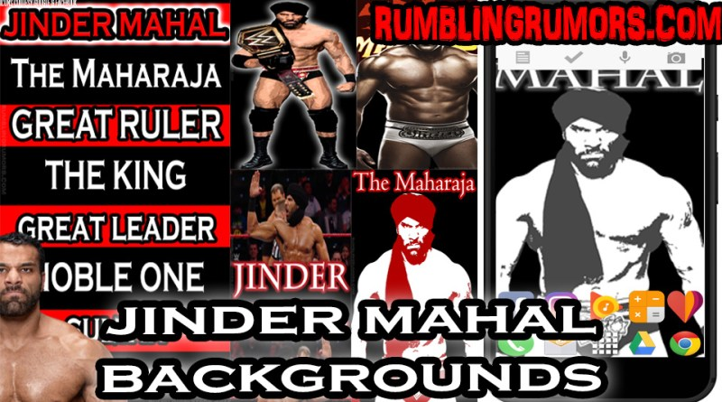 JINDER MAHAL HD BACKGROUNDS!