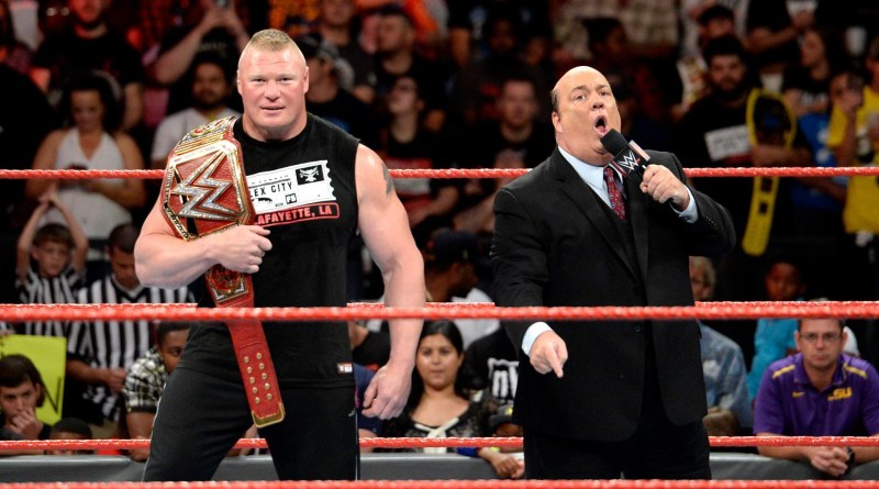Brock Lesnar's Opponent For Two New WWE Dates & Full 2017 Schedule.
