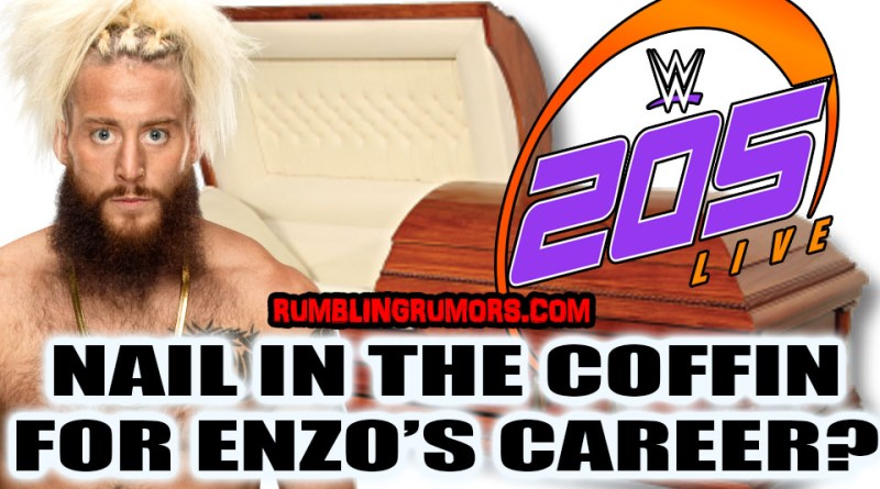 Nail in The Coffin For Enzo's Career? He just Debuted on 205Live…