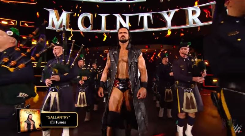 Drew McIntyre's NXT TakeOver Entrance makes the WWE Music Power 10!