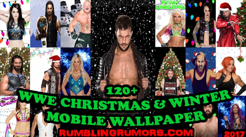 OVER 120 WWE Christmas and Winter Wallpapers! (2017 Edition)