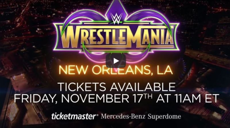 WWE Releases Official Pre-Sale Code For WrestleMania 34 Tickets!