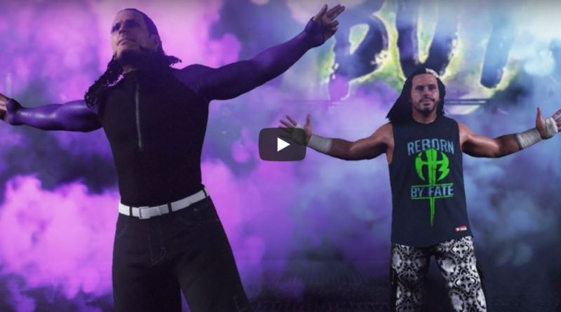 Matt & Jeff Hardy Available In WWE's 2K18 Enduring Icons DLC Pack!