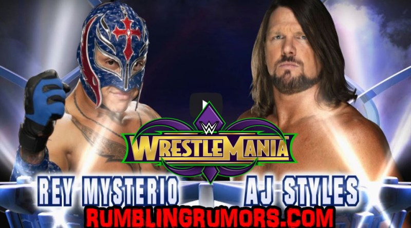 Could This Be A Sign WWE Is Going To Change AJ Styles Opponent Before Wrestlemania?!