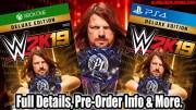 WWE 2K19 Full Details, Release Date, Pre-Order Information & More!