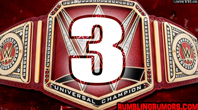 Top 3 Wrestlers That Deserve the Universal Championship