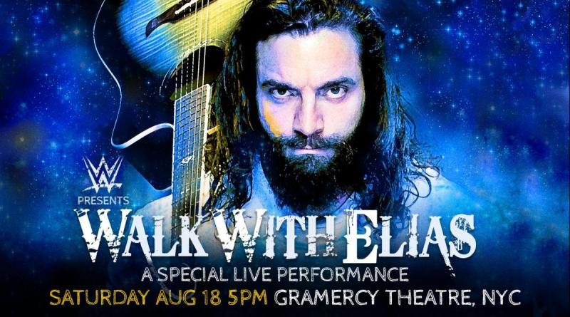 Elias to deliver special live performance at New York's Gramercy Theatre.